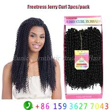 natural crochet hair find more bulk hair information about 1b natural black jerry curly