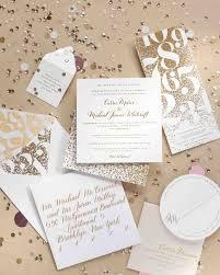 thanksgiving wedding invitations a metallic new year u0027s eve wedding in philly martha stewart weddings