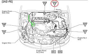 toyota corolla engine diagram with simple pictures 8768 linkinx com