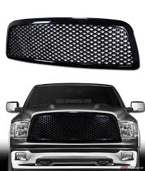 dodge ram 1500 grill for 2009 2012 dodge ram 1500 blk luxury mesh front bumper grill