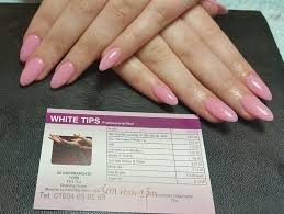 white tips professional nails home facebook