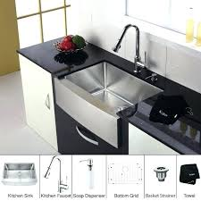kitchen faucet and sink combo kitchen sink combo awe inspiring kitchen sink and faucet combo