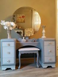 Antique Vanity With Mirror And Bench - delightfully pink antique vanity with mirror and bench pink