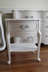 Pearl White Bedroom Set For Girls White French Provincial Nightstand Chrissie U0027s Collection Custom