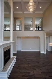 two story living room 2 story living room with mirrored fireplace benjamin marcus homes