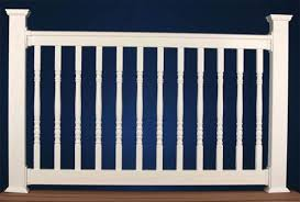 vinyl railing colonial pickets great railing