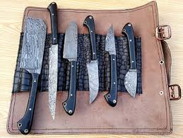 damascus kitchen knives for sale damascus made kitchen knife set buy kitchen knives set