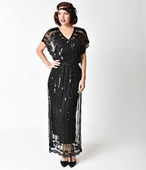 1920s style cocktail party dresses evening gowns