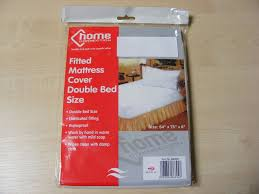 Mattress Cover Sheet by Double Plastic Fitted Mattress Cover Sheet Protector