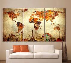 Framed Map Of The World by Online Get Cheap Framed Maps Aliexpress Com Alibaba Group