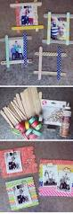 popsicle stick photo frames 18 diy fathers day gifts from kids