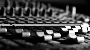 Recording Studio Mixing Desk by In Demand Music Video Events