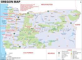 map of oregon us northwest us map cities oregon map thempfa org