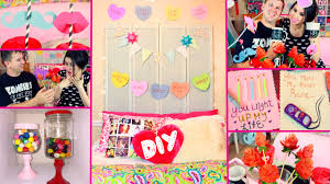 Valentine S Day Bedroom Decor by Diy Valentine U0027s Day Room Decor Diy Party Treats Diy Gifts