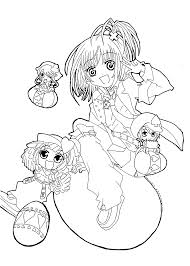 free anime coloring page free printable coloring anime