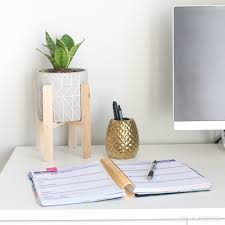 planter desk indoor snake plant 1 diy playbook
