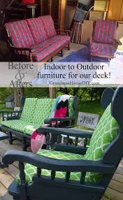 How To Paint Metal Patio Furniture - indoor to outdoor furniture i painted until my arm fell off