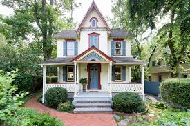 this victorian farmhouse for sale looks just like a dollhouse