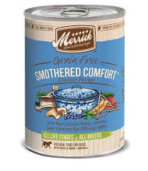 Comfort Classic Merrick Classic Recipes Smothered Comfort Canned Grain Free Dog