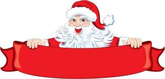 christmas santa claus winter christmas santa claus reindeer clipart free vector