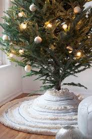 creative ideas for tree skirts southern living