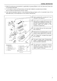 isuzu c240 workshop manual 28 images isuzu genuine oem c190