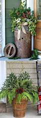 Christmas Decoration Outdoors by Best 25 Outdoor Christmas Decorations Ideas On Pinterest