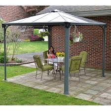 Outdoor Patio Gazebo 12x12 by Gazebos U0026 Sun Shelters Costco