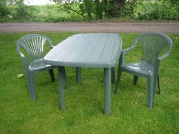 Green Plastic Patio Chairs Plastic Outside Table And Chairs Patio Furniture Conversation