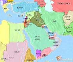 middle east map and capitals middle east map bfie me