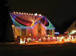 wonderful glowing merry outdoor decorations
