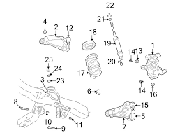 2005 dodge dakota front suspension diagram oem front suspension lower arm jounce bumper dodge