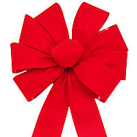 big christmas bows bows bright velvet bow