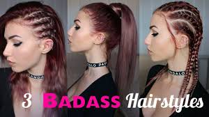 how to look edgy 3 seriously badass hairstyles stella youtube