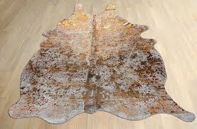funky finds friday metallic cowhide rug mod interiors