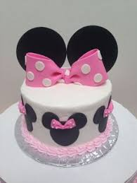 minnie rice crispies ears dipped in chocolate with fondant bows