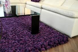 grape purple pebble rug 6ft x 4ft keens furniture