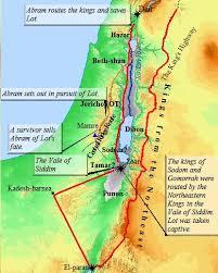 map ot testament map history