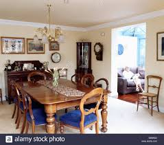 victorian balloon back chairs and mahogany table in dining room
