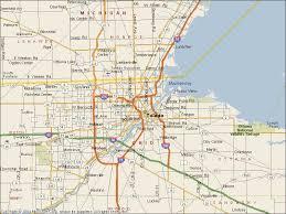 toledo ohio map graphics toledo ohio map