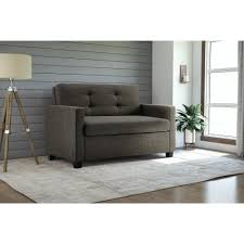 Twin Bed Sofa by Dhp Signature Sleep Devon Grey Linen Twin Sleeper Sofa By Dhp