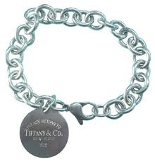 tag bracelet images Tiffany co classic please return to round tag 7 5 quot guaranteed jpg