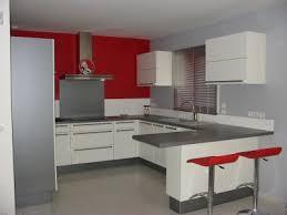 deco cuisine et blanc deco cuisine grise et beautiful gris blanc photos design
