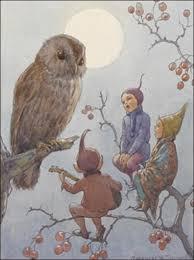 a carol for brown owl u201d by margaret w tarrant gnomes elves