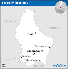 Map Of Luxembourg Luxembourg Map