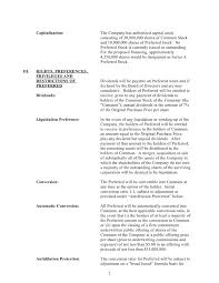 Term Sheet Template Sle Silicon Valley Series A Term Sheet From Dla Piper Svnewtech