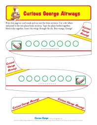 airplane coloring pages preschool printable pictures