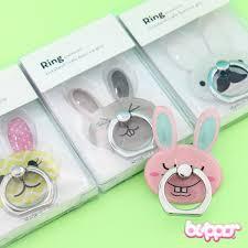 acrylic rabbit ring holder images Kawaii bunny phone ring stand holder blippo kawaii shop jpg
