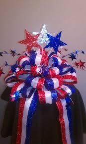 patriotic christmas tree ideas patriotic christmas tree bow