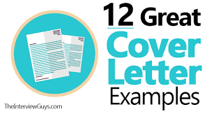 great cover letter 12 great cover letter exles for 2018